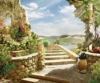 Лестница к террасе