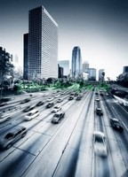 Дорога в городе 3Д