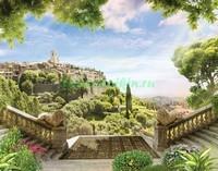 Терраса в Италии 3Д