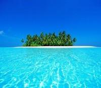 Остров в море 3Д