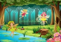 Феи в лесу