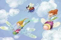 Феи летят в облаках