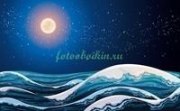 Звездное небо в море