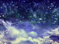 Облака и звездное небо