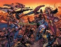 Борьба героев Марвел