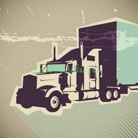 Русунок грузовик