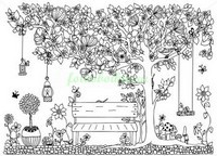 Скамейка под волшебным деревом