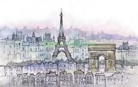 Вечер в Париже