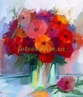 Рисунок акварелью цветы