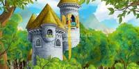 Рапунцель в замке