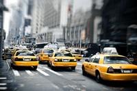 Такси в час пик