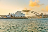 Сидней вид с моря
