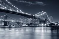 Бруклинский мост зимой