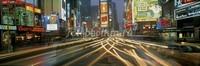 Шумный проспект Нью-Йорка