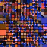 Квадратики синего цвета