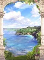 Арка с видом на остров