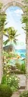 Тропическая фреска