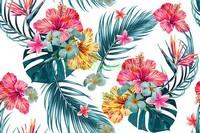 Паттерн с  цветами