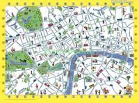 Детская карта Лондона рисунок