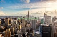 Солнечное утро Нью-Йорк