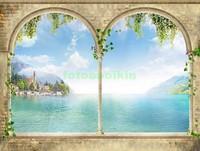 Арки с видом на озеро