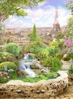Пруд в Париже