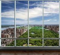 Окно с видом на центральный парк