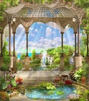 Пруд в дворцовом саду