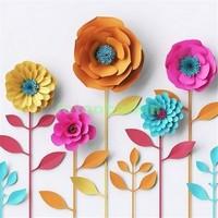 3D полевые цветы