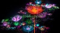3D абстракция из цветов