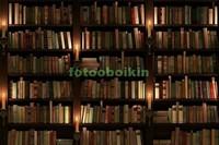 Старинный шкаф с книгами