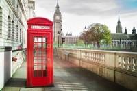 Телефонная будка в Лондоне