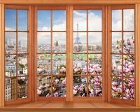 Окно с видом на Париж