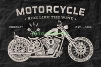 Рисунок мотоцикл