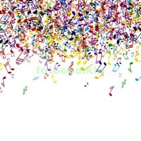 Цветные ноты