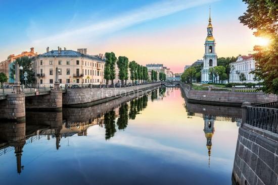 Вид на Никольский собор и Крюков канал