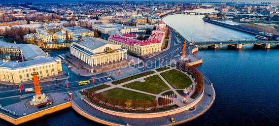 Петербург сверху