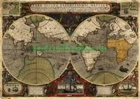 Темная карта мира