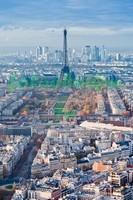 Париж с высока