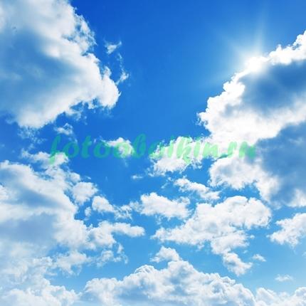Облака в небе