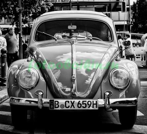 Старый ситроен жук