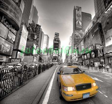 Желтое такси Нью-Йорка