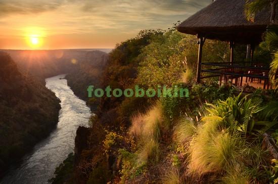 Африканская река