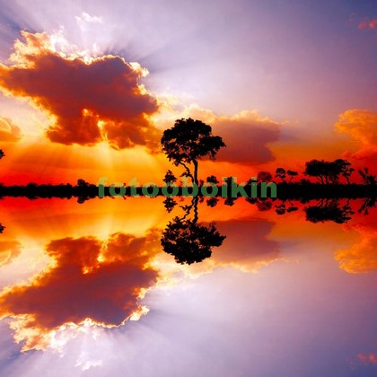 Озеро в Африке