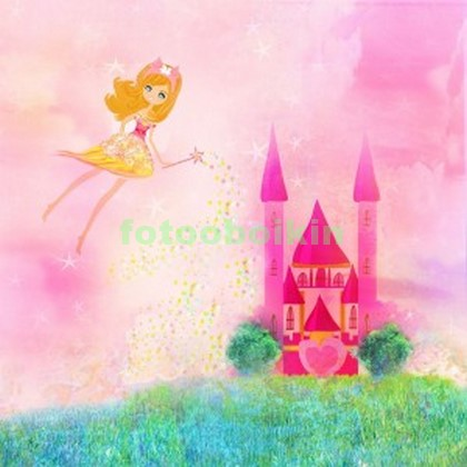 Розовый замок принцессы