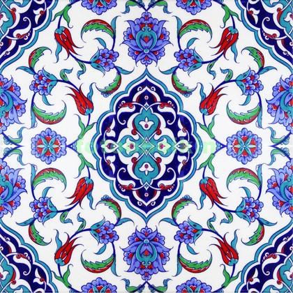 Керамика с синим узором