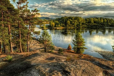 Скалы в Финляндии