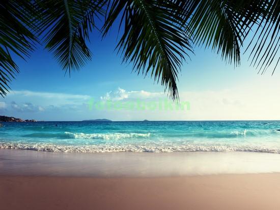 Карибский пляж вечером