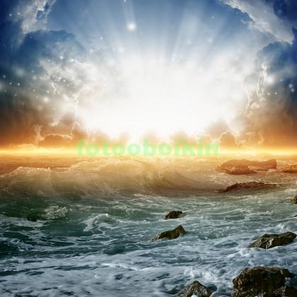 Разбушеавшееся море