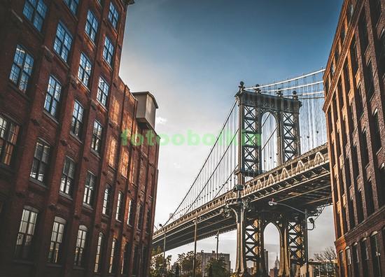 Бруклинский мост вид с улицы